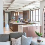 Palos Verdes Estates Custom Home Kitchen And Family Room
